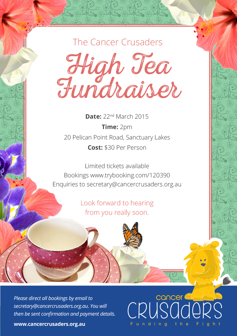 Invitation High Tea with great invitation template